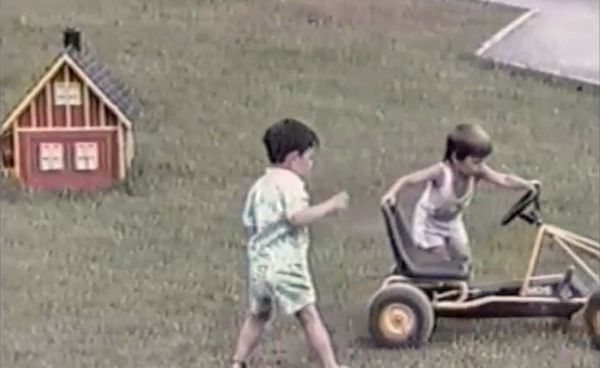 Selection of funny kids playing